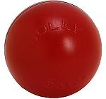 Jolly Pets Push-n-Play Ball Dog Toy Red - 11.4 cm