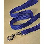 Ezra Single Thick 19 mm Dog Leash - Purple