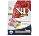 Farmina N&D Dry Cat Food Grain Free Quinoa Weight Management Lamb Adult - 300 gm