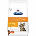 Hill's Prescription Diet  c/d  Feline Multicare Urinary Care Cat Food - 1.5 kg