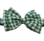 Mutt Of Course Checkmate Bow Tie Green - Large