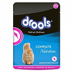 Drools wet Cat Food Mackeral Gravy Pouch - 100 gm