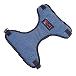 Mutt Of Course Organic Light Denim Harness For Dogs- Large