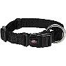 Trixie Premium Collar Jet Black - Large & Xlarge