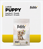 Fidele+  Large Puppy Dry Dog Food - 12 Kg