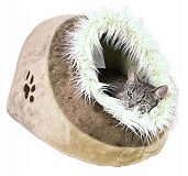 Trixie Minou Cuddly Cave Cat/ Dog Bed  (LxBxH - 41x25x36 CM)
