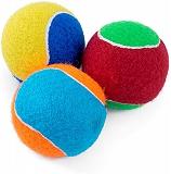 Trixie 12 Tennis Balls Set of 12 pcs, Dia - 10 cm
