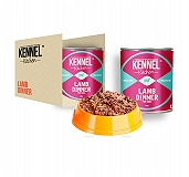 Kennel Kitchen Lamb Dinner Can Food - 430 gm (24 Cans)