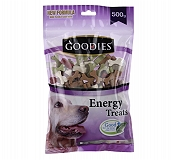 Goodies Energy Treat Mix Cut Bone Dog Treat - 500 gm