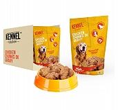 Kennel Kitchen Chicken Chunks In Gravy 100 gm (Pack of 15)