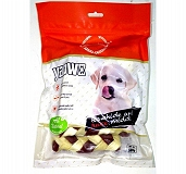 Gnawlers Yaowo Braided Bone Dog Treat - 220 gm