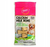 Gnawlers Calcium Milk Bone Dog Treat Small 60 gm - 7 Pieces (Pack of 5)