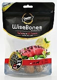 Gnawlers WiseBones Salmon With Lemon Dog Treat Large - 200 gm