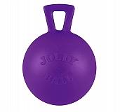 Jolly Pets Tug-n-Toss Ball Dog Toy Purple - 25.4 cm