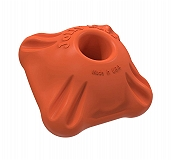 Jolly Pets Flex-n-Chew Squarable Dog Toy Large - Orange