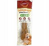 Gnawlers Bone Medium Chicken Dog Treat - 95 gm (Pack of 10)
