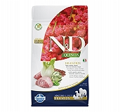 Farmina N&D Dry Dog Food Grain Free Quinoa Digestion Lamb Adult - 800 gm (Pack Of 10)