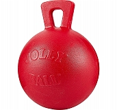 Jolly Pets Tug-n-Toss Ball Dog Toy Red - 15.24 cm