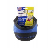 Pack My Bowl Dog Bowl Cover Blue PETSPORT