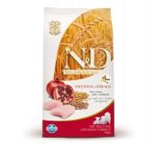 Farmina N&D Dry Dog Food Chicken & Pomegranate Puppy Maxi Breed - 12 kg
