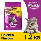 Whiskas Chicken Flavour Cat Food - 1.2 Kg