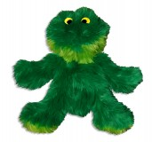 KONG Plush Frog Dog Toy - Medium