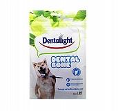 Gnawlers Dentalight 60 Pcs Mini Dental Veg Bone Dog Treat - 500 gm