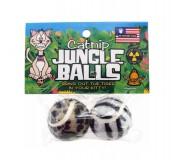 PETSPORT Catnip Jungle Balls Cat Toy - 2 Pack