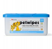 Petkin Petwipes For Cats and Dogs - 100 pieces