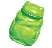 KONG Squeezz Jels Frog Dog Toy Large