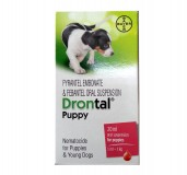 Bayer Drontal Dewormer for Puppies - 20 ml