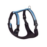 Ferplast Ergocomfort Tattoo Dog Harness - Large - 25 mm - Blue
