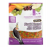 ZuPreem Fruit Blend Premium Food For Medium Bird - 900 Gm