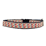 Mutt of Course Candy Barrr Collar for Dogs- Small
