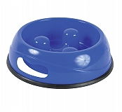 Trixie Slow Feed Plastic Bowl Assorted - Medium
