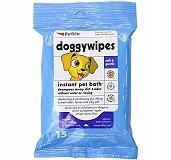 PetKin Doggywipes - 15 Wipes