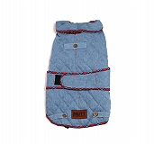 Mutt Of Course Denim Jacket Light Blue - 4XLarge