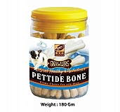 Gnawlers Pettide Bone Jar Dog Treat -  180 gm