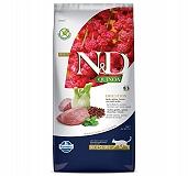 Farmina N&D Dry Cat Food Grain Free Quinoa Digestion Lamb Adult - 5 Kg