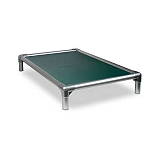 Kuranda All Aluminium Dog Bed Forest Green - Large
