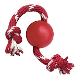 Kong Ball With Rope Dog Toy - Small/Medium