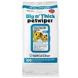 Petkin Big n Thick Petwipes - 100 Wipes