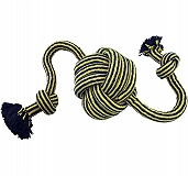 Petsport Twisted Chew Monster Knot Ball