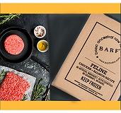 BARF Chicken + Salmon  Feline Food Recipe - 4 kg