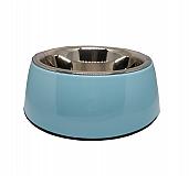 Basil Malamine Bowl Blue - Large