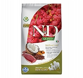 Farmina N&D Dry Dog Food Grain Free Quinoa Skin & Coat Duck Adult - 2.5 Kg