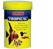 Taiyo Tropical Flake Fish Food - 25 gm (Pack Of 3)