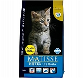 Matisse Kitten Food - 1.8 Kg (Pack Of 8)