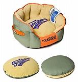 Touchdog Original Castle-Bark Ultimate Rounded Premium Dog Bed - Medium
