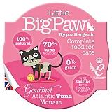 Little Big Paw Gourmet Atlantic Tuna Mousse Cat Food- 85 gm (Pack of 8)